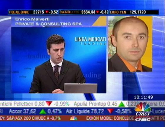 Enrico Malverti interviene su Class-CNBC