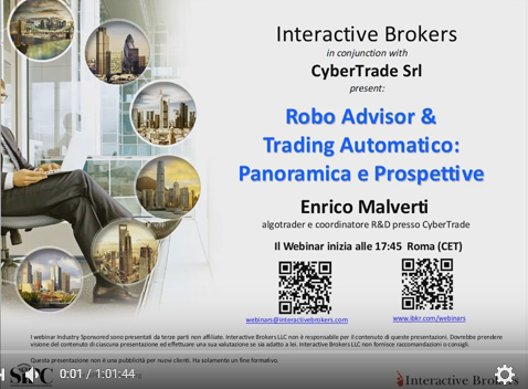 Robo Advisor & trading automatico