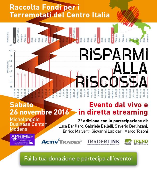 Aiutiamo il Centro Italia!