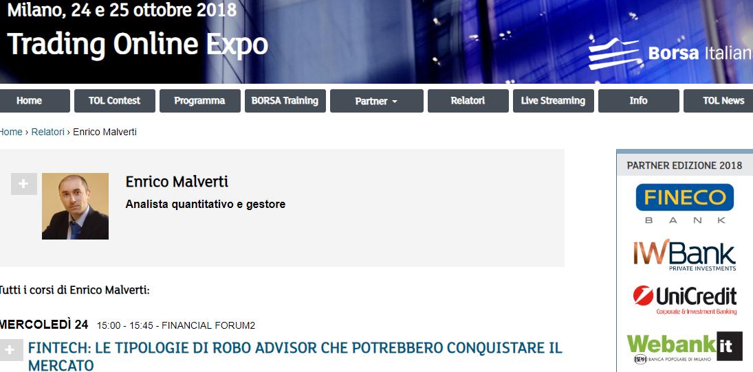 Arriva la TOL Expo di Borsa Italiana!