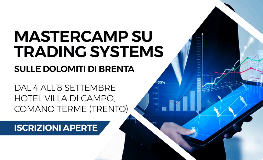 Mastercamp su Trading Systems sulle Dolomiti di Brenta