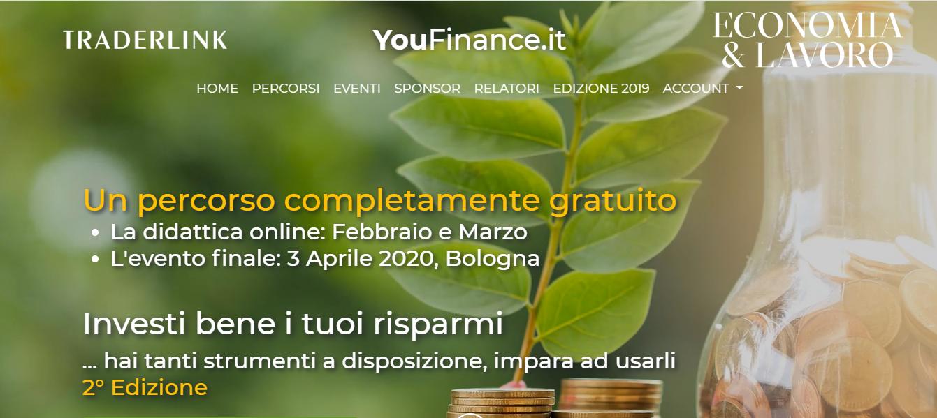 Progetto Youfinance: dispensa gratuita su money management e tanto altro